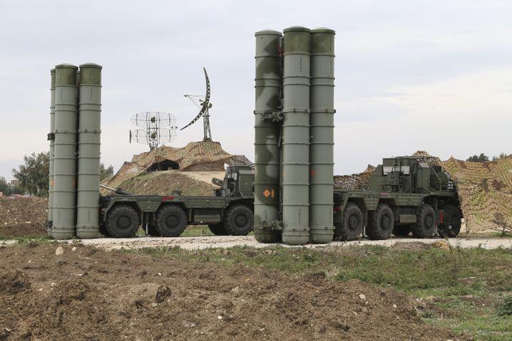 S-400-Raketensystem