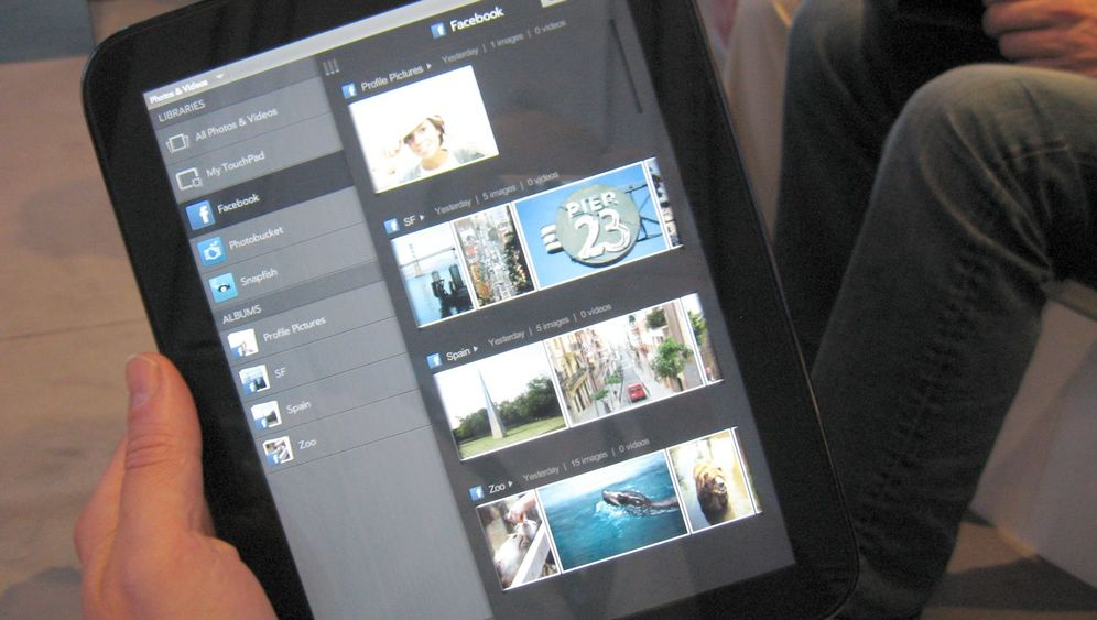 HP TouchPad: Das Tablet mit dem WebOS