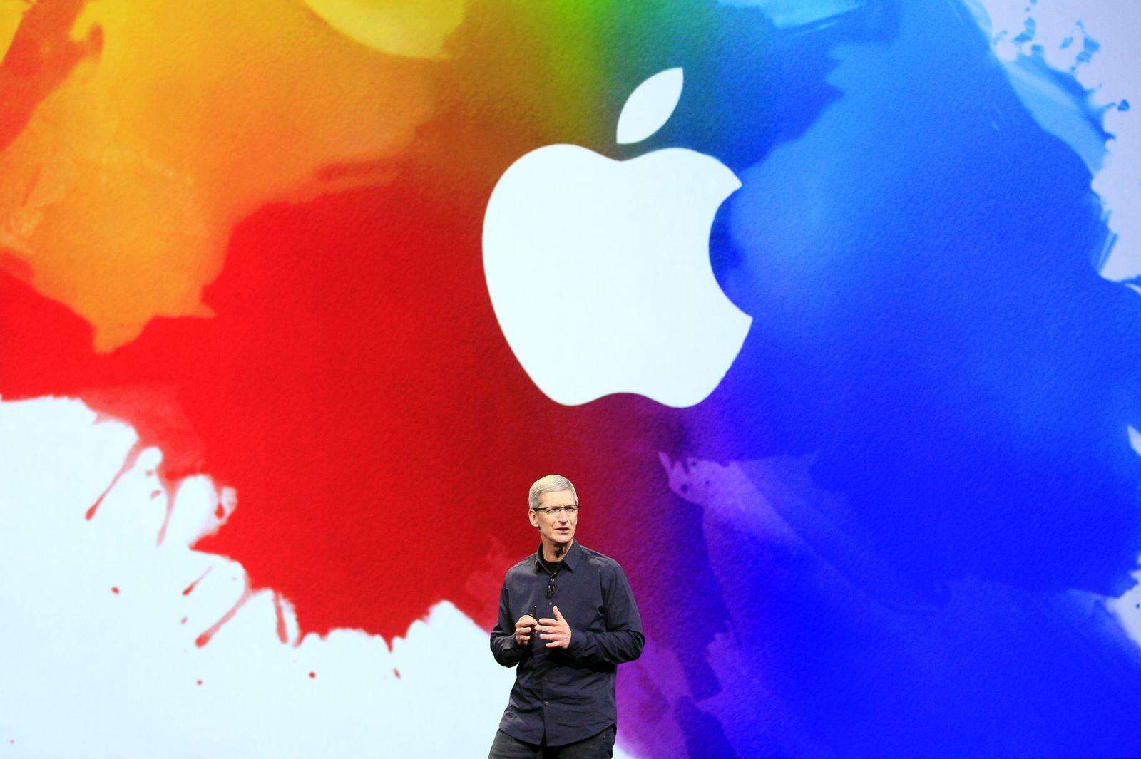 Apple iPad / Tim Cook