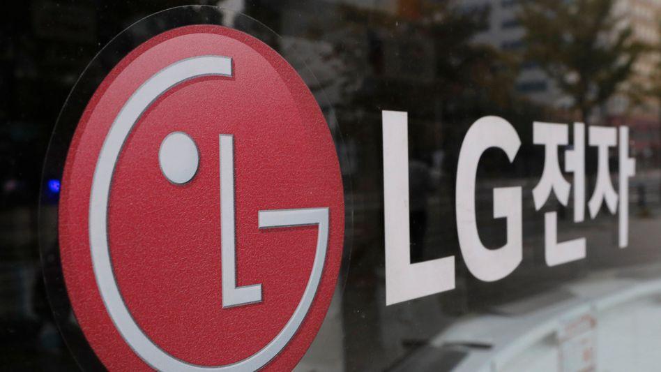 LG-Logo in Südkorea: Friedensschluss mit der Konkurrenz