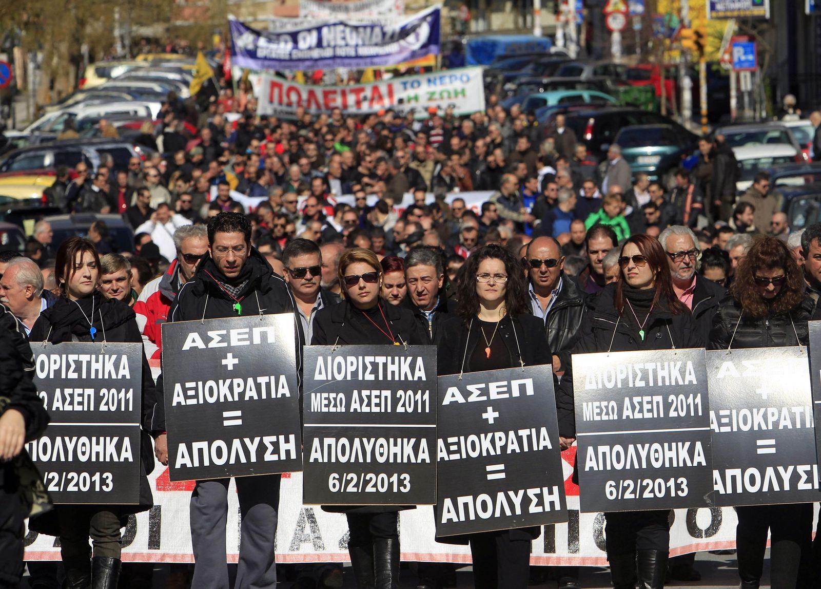 Griechenland/ Demo