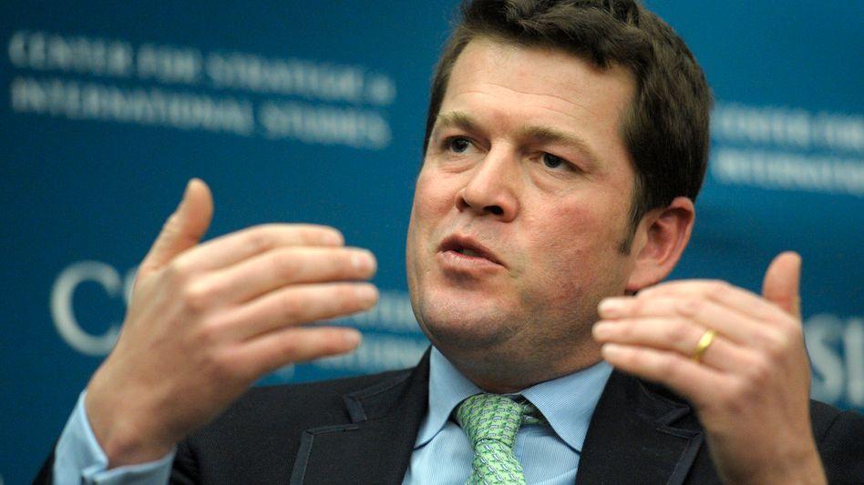 Guttenberg in Washington (Archiv): Appell an die Bundesregierung