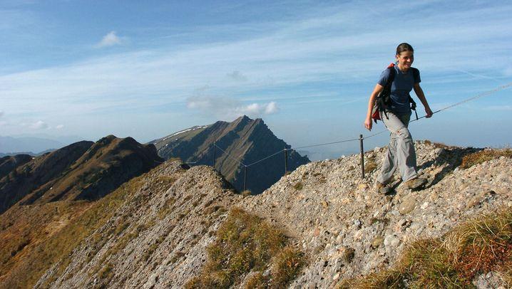 Panorama-Höhenwege: Immer dem Grat nach