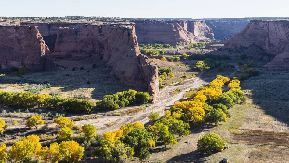 US-Bundesstaat Arizona: Canyon de Chelly in Chinle