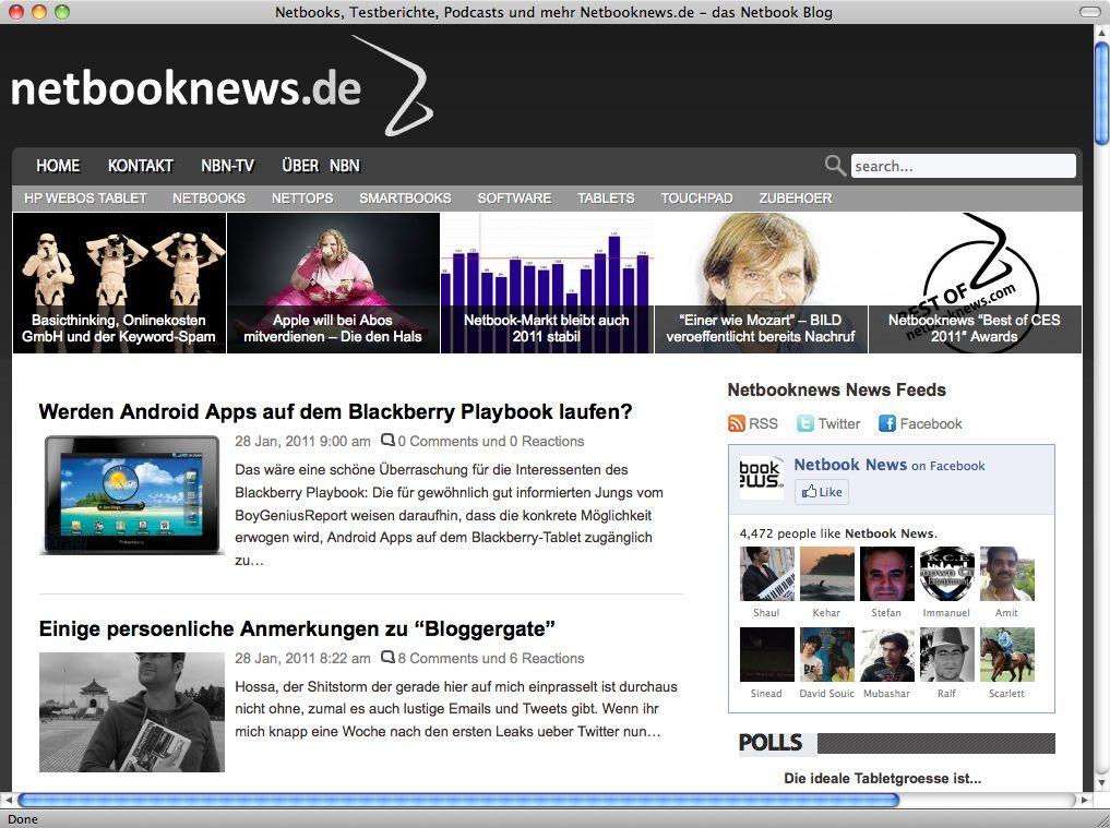 netbooknews.de/ Screenshot