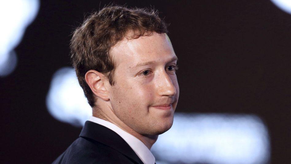Facebook-Gründer Zuckerberg: Neues Jahr, neue Herausforderung