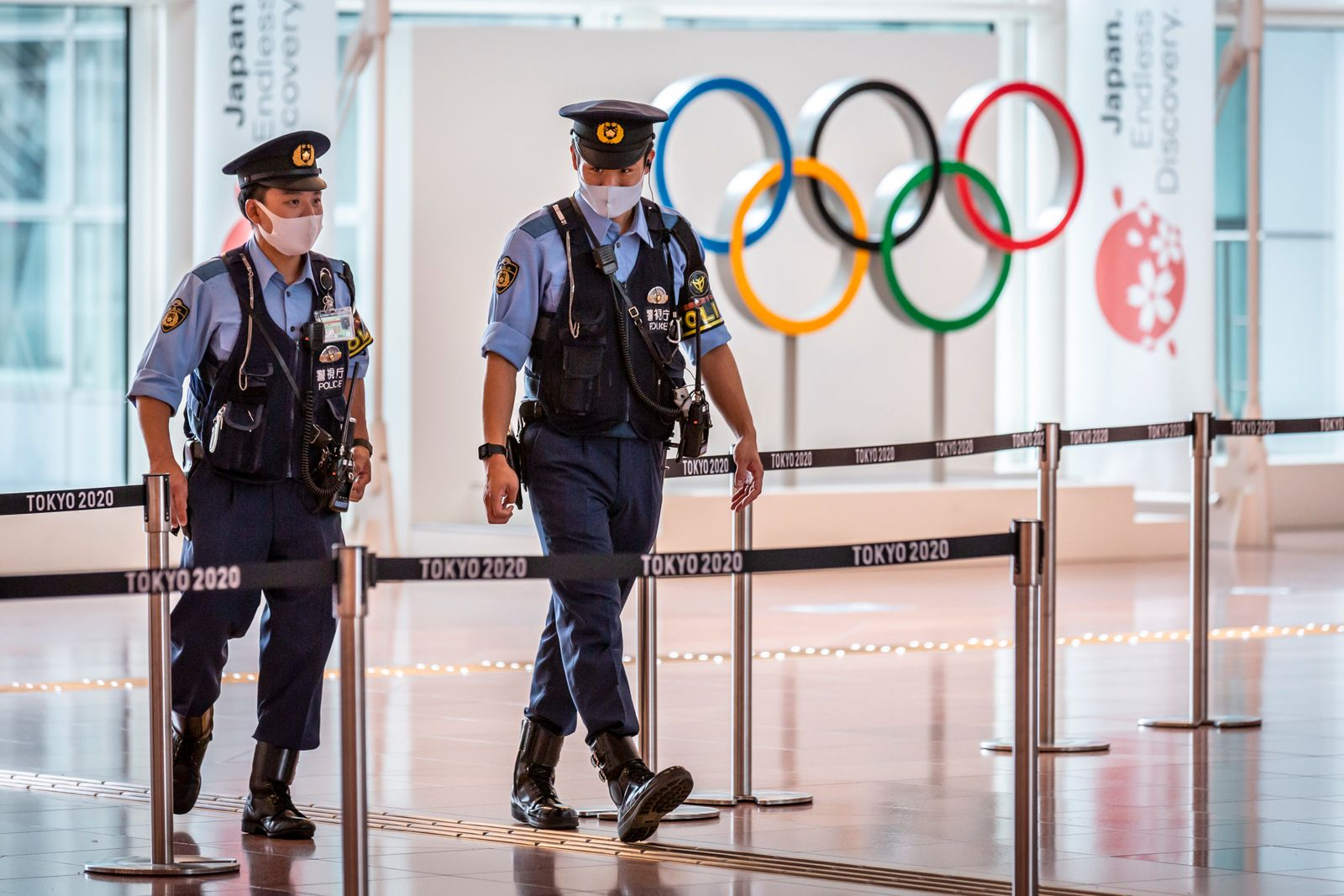 Pandemic-Struck Haneda Airport Gears Up For Olympic Arrivals