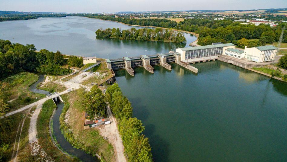 Wasserkraftwerk in Bayern