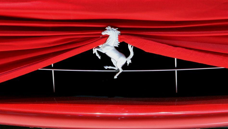 Ferrari-Emblem: Dividende in Aussicht