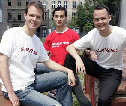 A bit of seed cash may end up going a long way for Michael Brehm, Ehssan Dariani, Dennis Bemmann, the founders of StudiVZ.