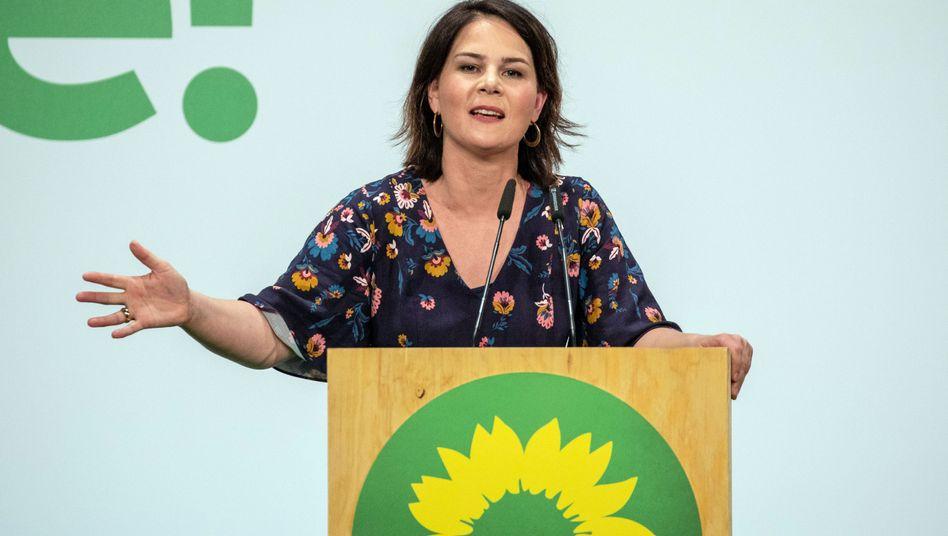 Annalena Baerbock, Grünen-Chefin