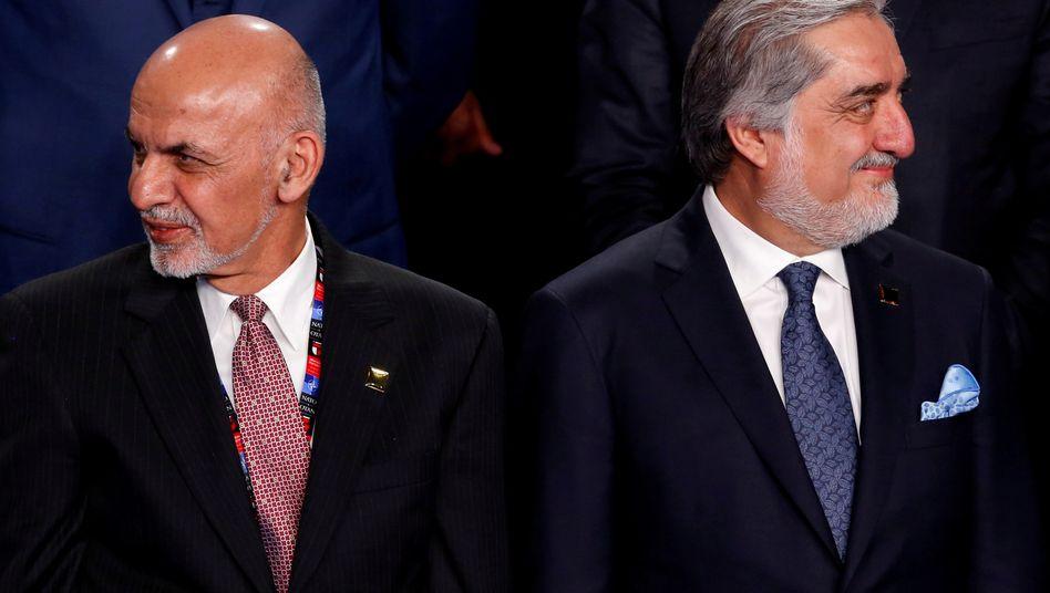 Ashraf Ghani und Abdullah Abdullah: Jetzt wurde eine Einigung erzielt