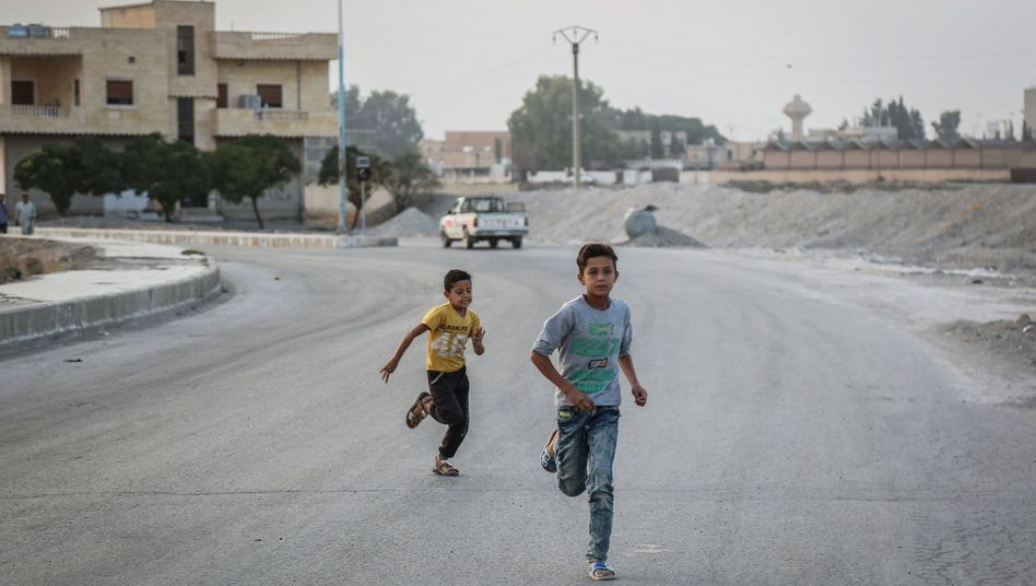 """Tell Abiad in Syrien: """"Die Türkei für ihr völkerrechtswidriges Verhalten zur Rede zu stellen"""""""