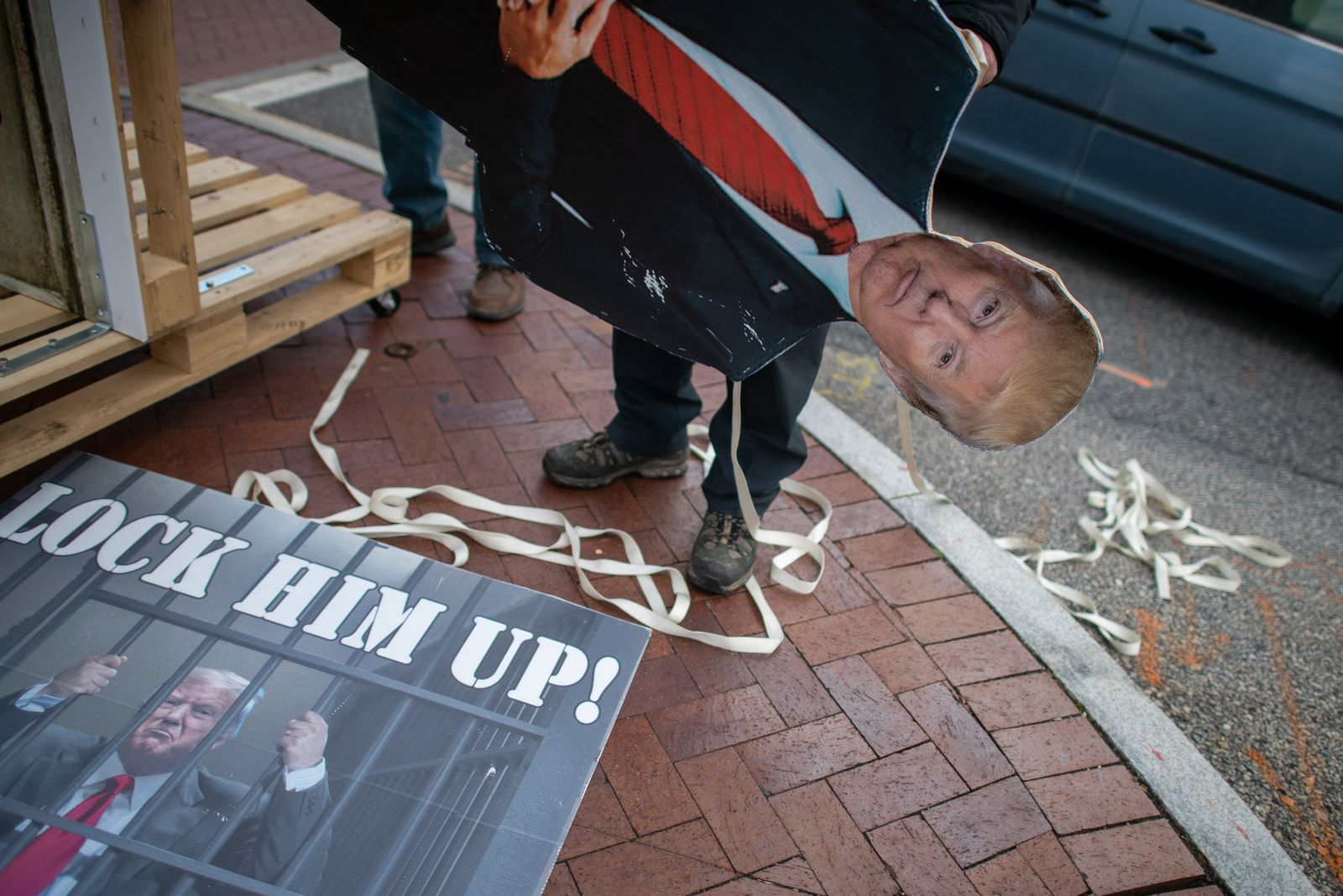 Pro-Trump Protesters Gather At State Capitols Across The Nation Ahead Of Presidential Inauguration