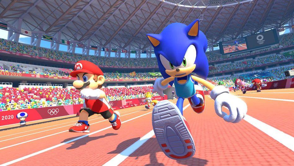 Mario & Sonic im Wettkampf den Olympischen Spielen in Tokyo 2020