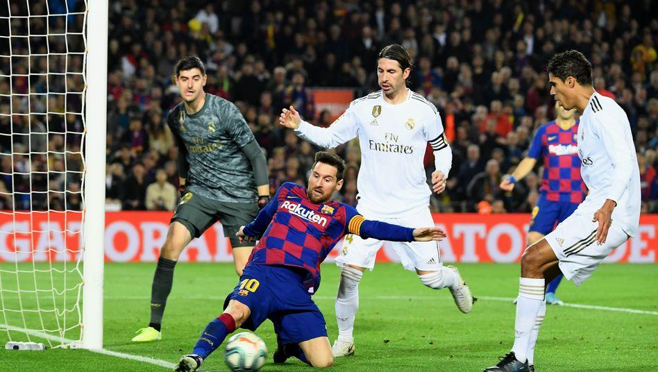 Lionel Messi war eigentlich Barcelonas überragender Spieler