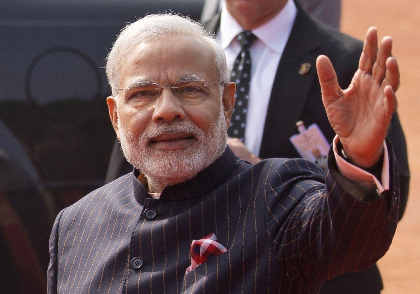 Anzug / Narendra Modi