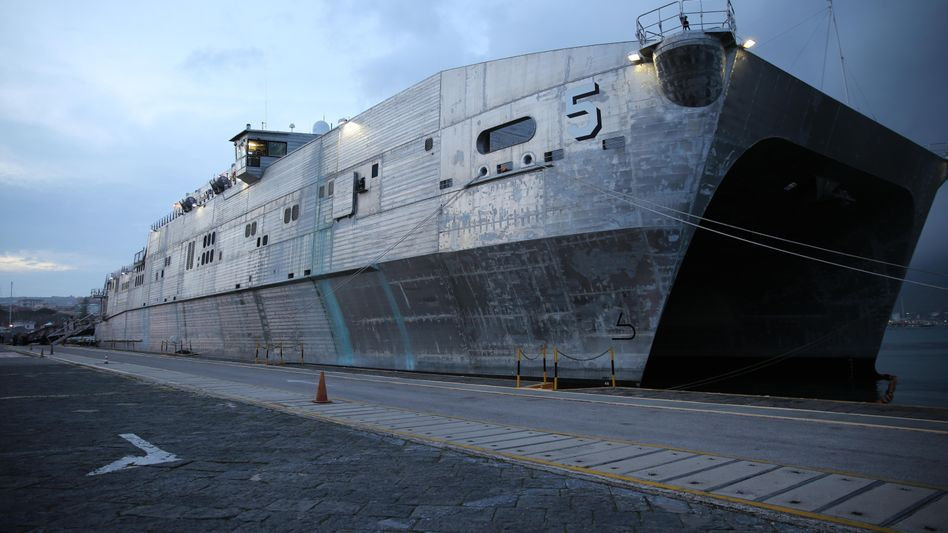 The USNS Trenton