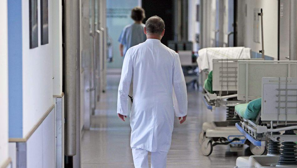 Notaufnahme eines Krankenhauses: Kosten für die Kassen stiegen überdurchschnittlich