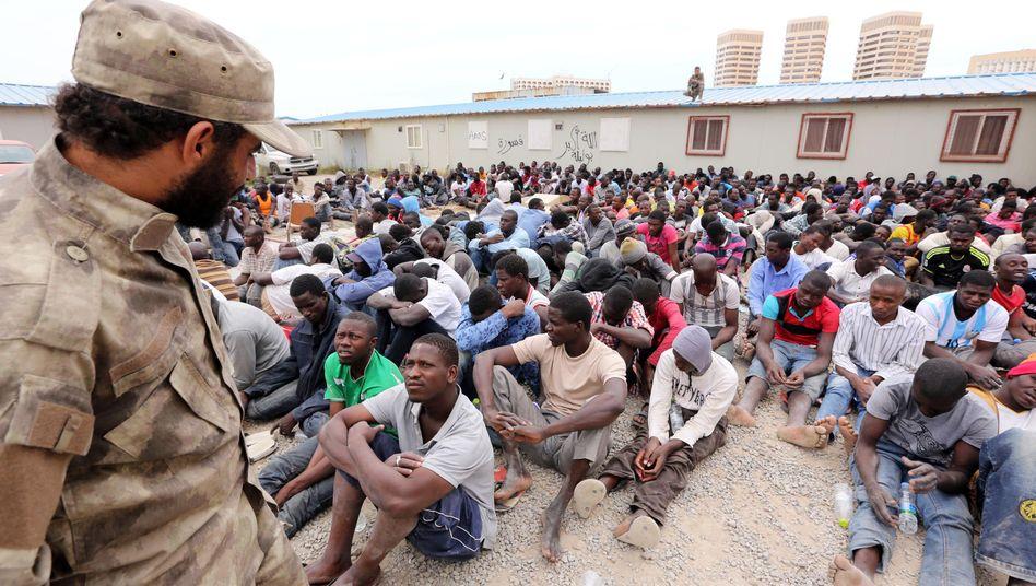 Flüchtlinge aus Sub-Sahara-Afrika in Libyen: Die meisten sind aus Eritrea