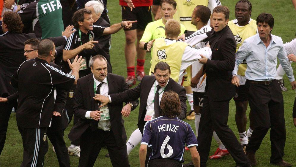 Deutschland gegen Argentinien 2006: Elfmetertriumph bei der Heim-WM