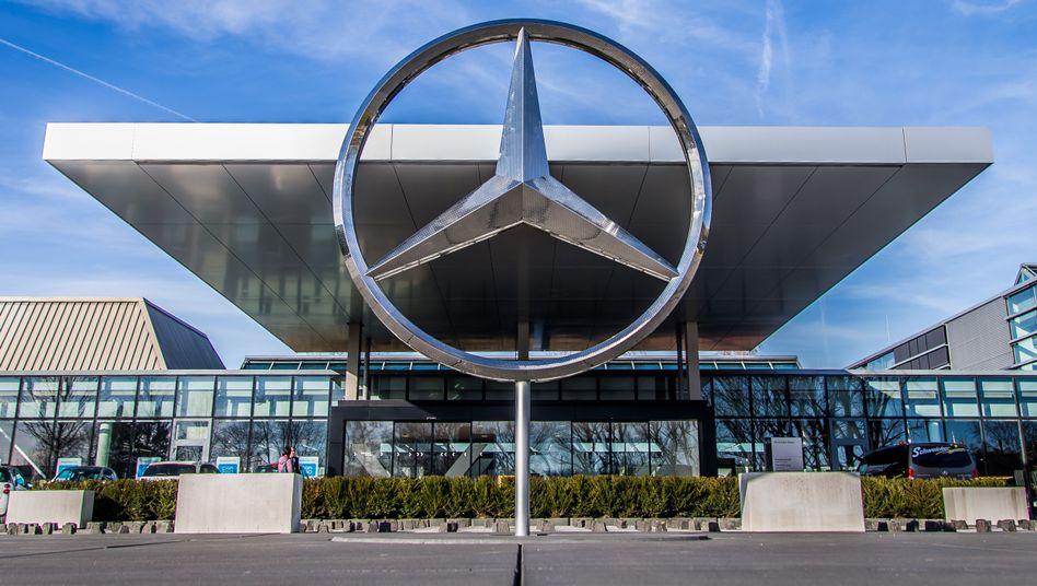Daimler-Sitz in Sindelfingen