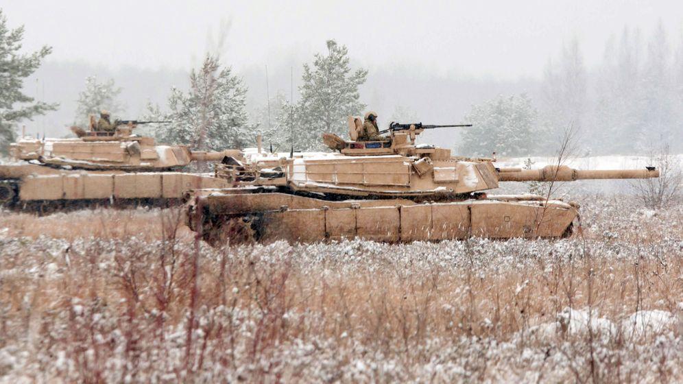 Nato-Pläne: Truppen für den Osten