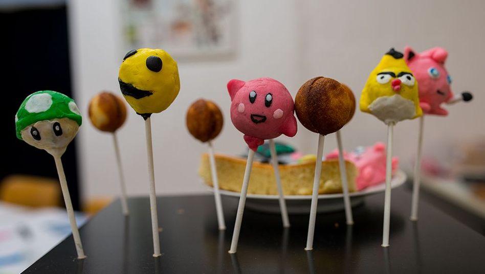 """Pac-Man und Co. als Cake Pops: Beim Play15 gibt es Mittwoch- bis Samstagnachmittag einen Workshop namens """"Games backen"""""""