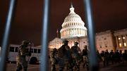 Polizei und Nationalgarde sichern Kapitol
