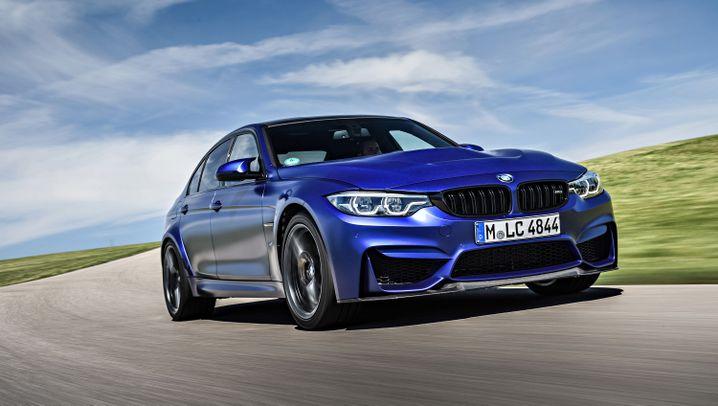 Autogramm BMW M3 CS: Der Wilde
