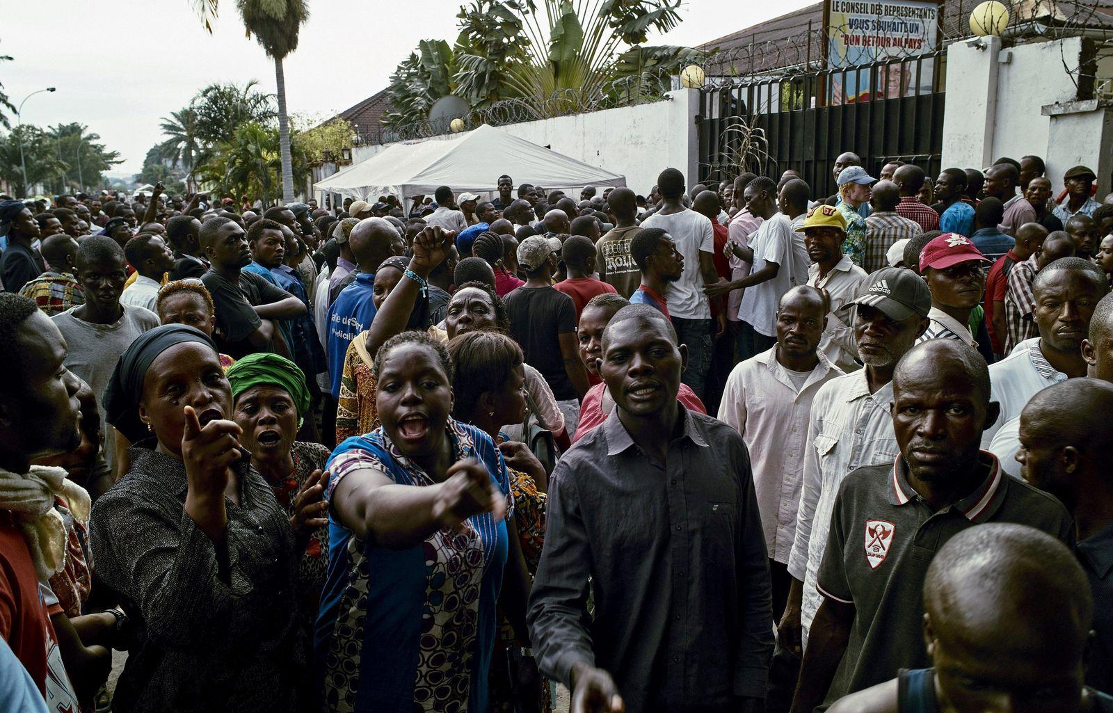 Kongo Kinshasa Opposition Proteste