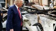 Wie Donald Trump die Gewalt auf den Straßen der USA nutzt