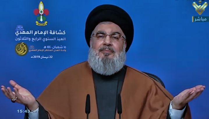 Hisbollah-Generalsekretär Hassan Nasrallah: Ruhe an der Grenze zu Israel