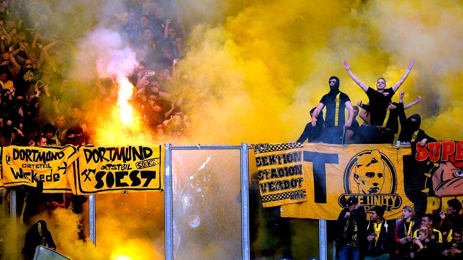 """BVB-Anhänger beim Derby: """"Null Toleranz"""""""
