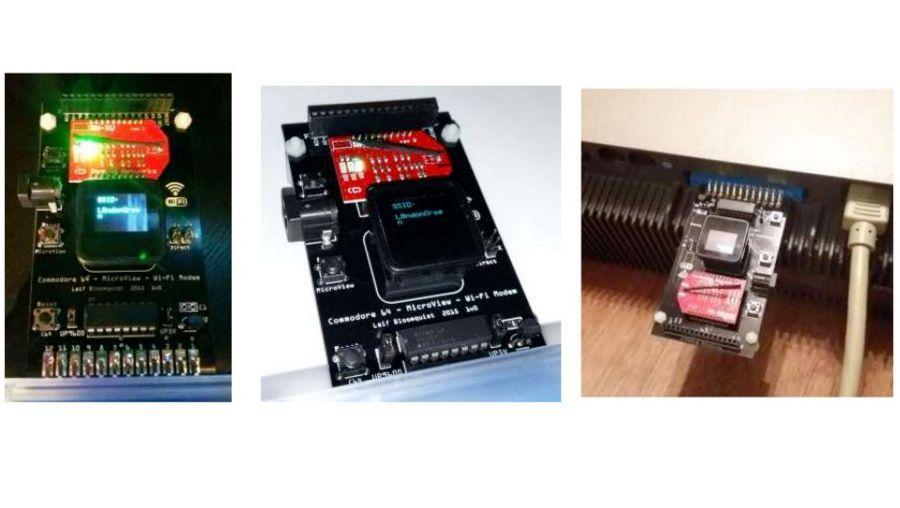 Erweiterung nach 33 Jahren: Dieses Modul verbindet den C64 mit dem WLAN