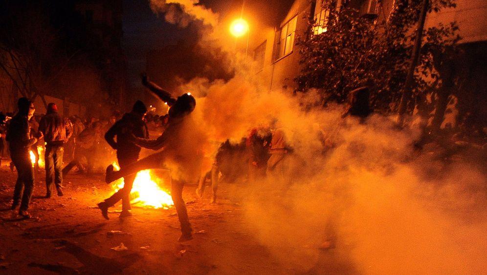 Ägypten: Steine, Schrot, Tränengas