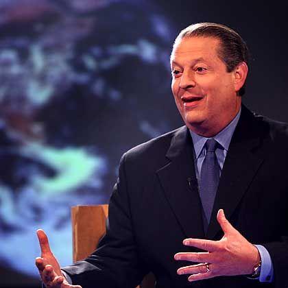 Klimabenefiz-Pionier Gore: Hilfe von den Indianern in Washington.