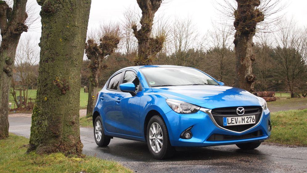Mazda 2 Skyactive G 75: Wechselstimmung