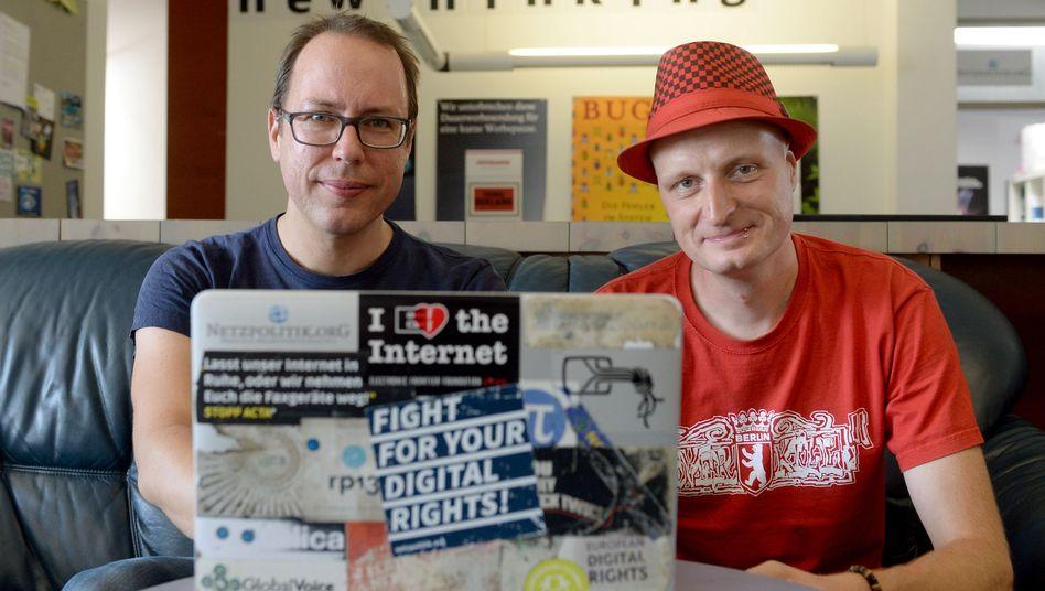 """Blogger Beckedahl und Meister: """"Ein starkes Signal des Parlaments"""""""