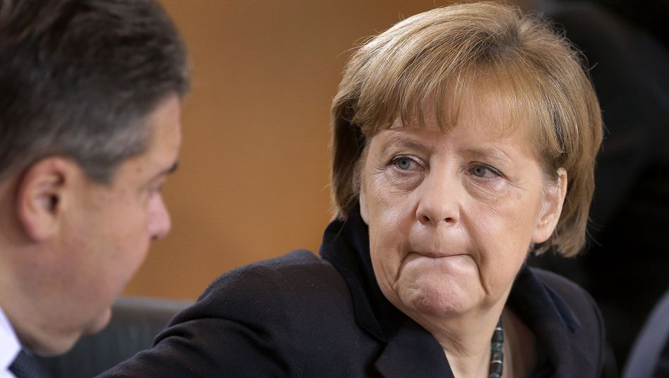 Kanzlerin Merkel, Vize Gabriel: Plötzlich im Fokus