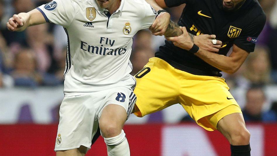Spieler von Atletico und Real Madrid im Champions-League-Halbfinale