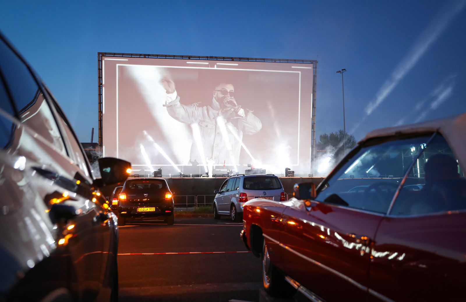 SIDO - Live! At Drive-In Cinema During The Coronavirus Crisis