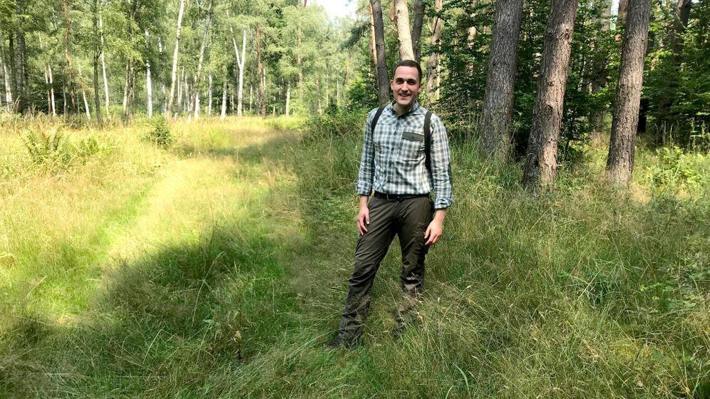 Kai Hamann: Er beobachtete schon Quads und Motorräder in Wildschwein-Suhlen