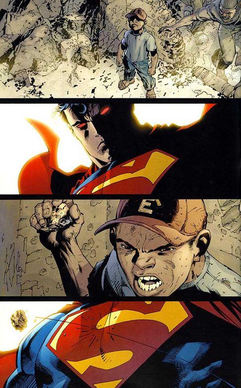 """Superman in Jim Lees """"For Tomorrow"""": """"Heute kann er nicht mehr so imperialistisch unterwegs sein"""""""