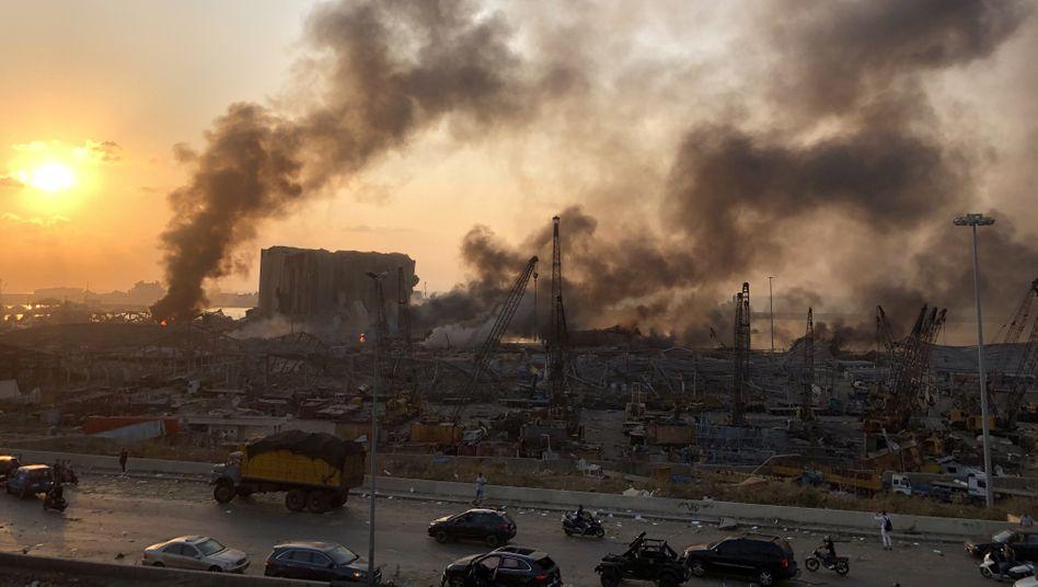 Endzeit-Szenario in der libanesischen Hauptstadt