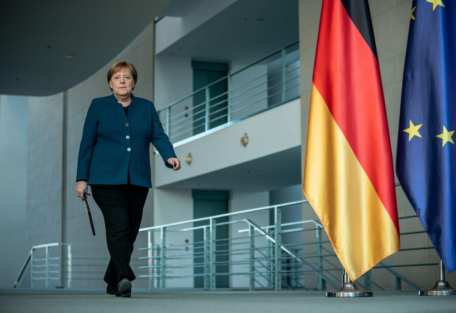 Coronavirus - Statement Merkel