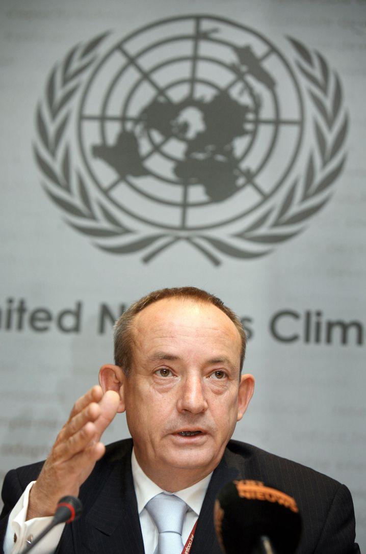 "Yvo de Boer, Chef des Uno-Klimasekretariats: Warnung vor ""globaler Katastrophe"""