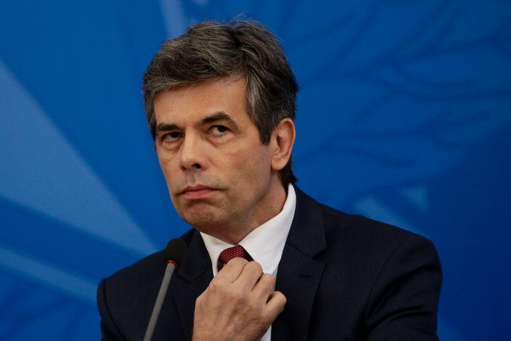 Brasiliens neuer Gesundheitsminister Nelson Teich