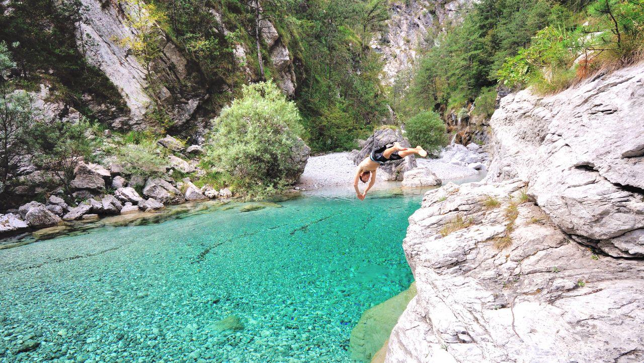 Italien: Die besten Orte zum Wildschwimmen - DER SPIEGEL