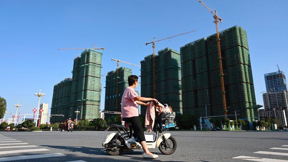 Immobilienprojekt von Evergrande in der Provinz Henan: »Enormer Druck«